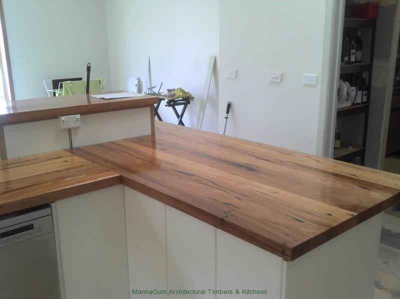 Wood benchtop diy diy do it your self for Kitchen benchtop ideas
